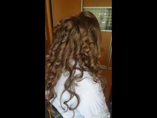 Всем привет💖. Вот и видео 🎬 Преображение для выпускного вечера💄#hairstylebyme  #makeupbyme💄 #ухта