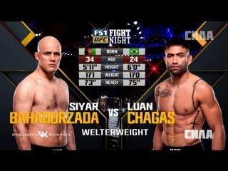 Fight Night Atlantic City: Siyar Bahadurzada vs Luan Chagas