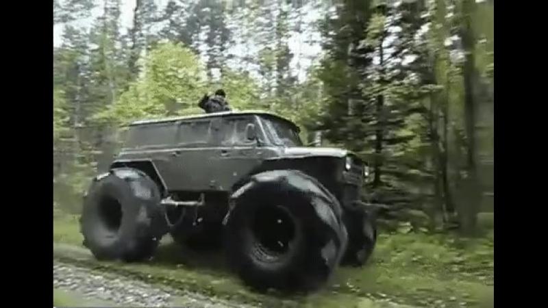 Самодел с колесами от К700. Как вам зверь?🔥