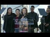 Natalie Portman, Alfre Woodard, Olivia Munn and more bring Time's Up fire to Women's March in L.A.