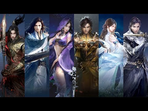 Justice Online Treacherous Waters 逆水寒 - Final CBT 6 Class All Skills vs Combo Gameplay Video Show