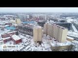 ЖК «Малая Охта» от застройщика «СПб Реновация» (аэросъемка: январь 2018 г.)