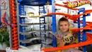 Самый бОльшОй ХОТ ВИЛС гараж ГИГАНТ с ГОРИЛЛОЙ на 140 машинок Видео для детей