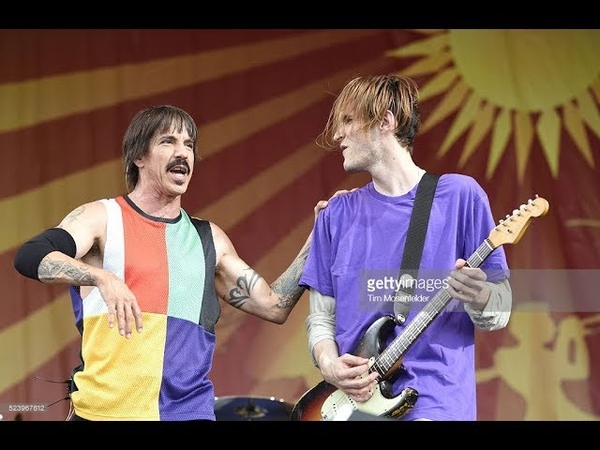 Josh saves the day - Compilation of Josh Klinghoffer saving Anthony Kiedis singing