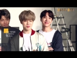 090318 BTS Message for KB Kookmin Bank Basketball Team