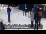 На горке в станице Романовская отдыхающие подрались с охраной из-за санок