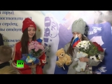 180227 EXO - Monster @ RT News, Evgenia Medvedeva, Alina Zagitova