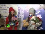180227 EXO - Monster @ RT News, Evgenia Medvedeva, Alina Zagitova