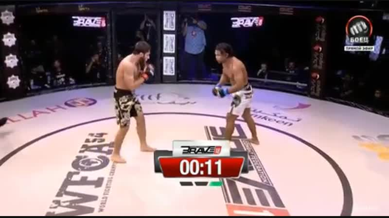 WFCA 54 / BraveCF 18: Абдул-Рахман Дудаев - Джо Таймангло