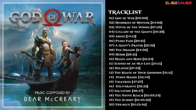 God of War (2018) - Full Original Soundtrack Tracklist [OST]