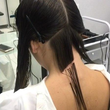 """Anton Kochetkov on Instagram: """"step by step x8 🙌sayplehairbrainedbehindthechair crafthairdresser hairtutorial"""""""