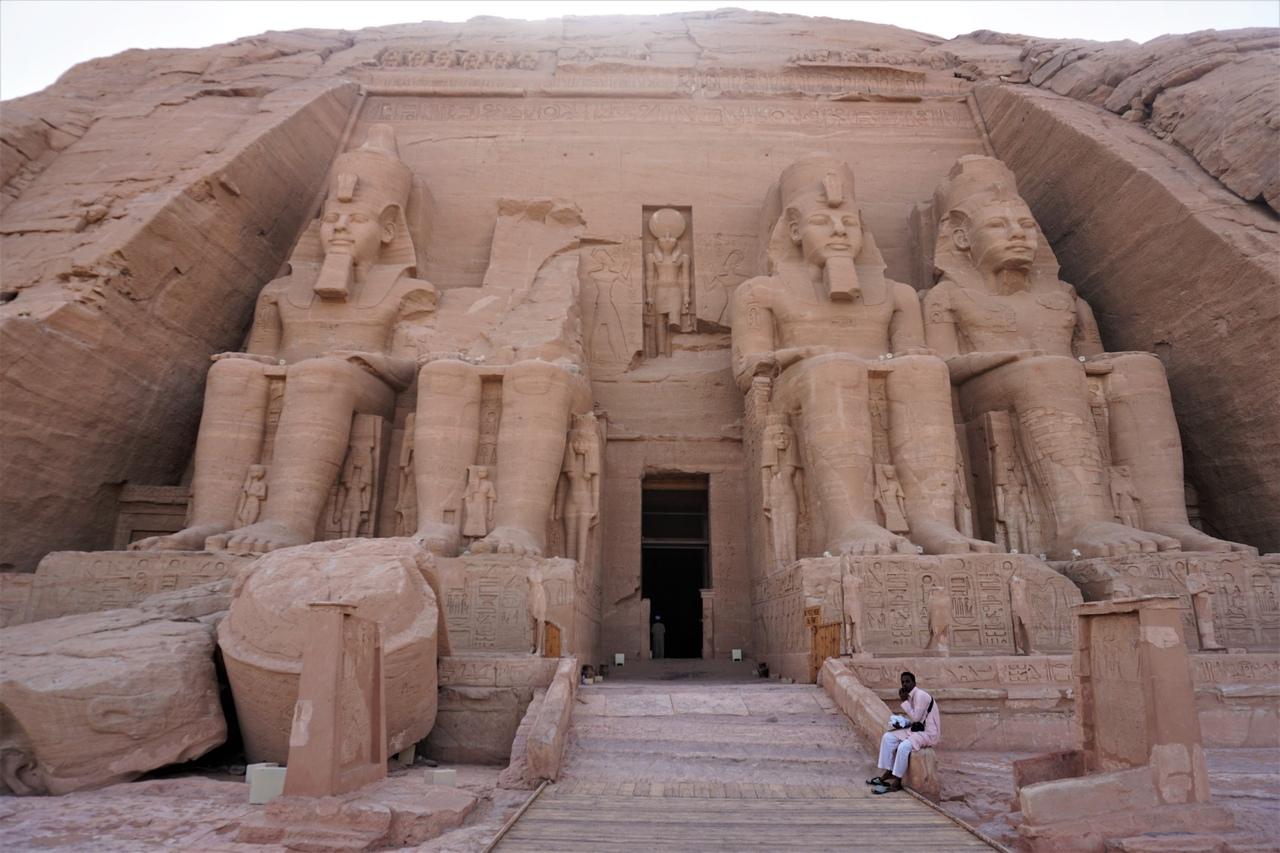 Великий храм Рамзеса II в Абу-Симбел