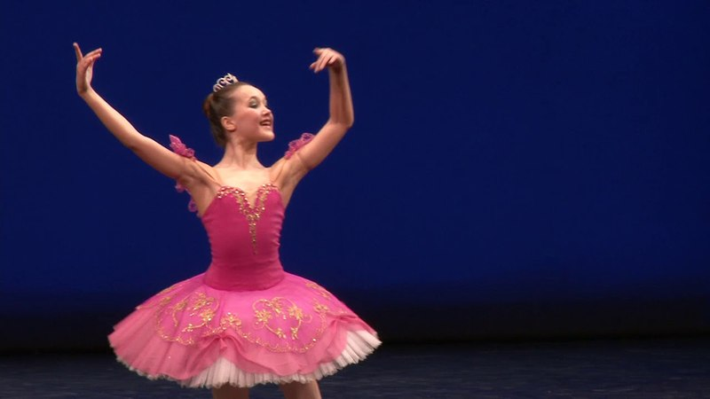 Мария Полунина . МГТК Балетная школа Армида