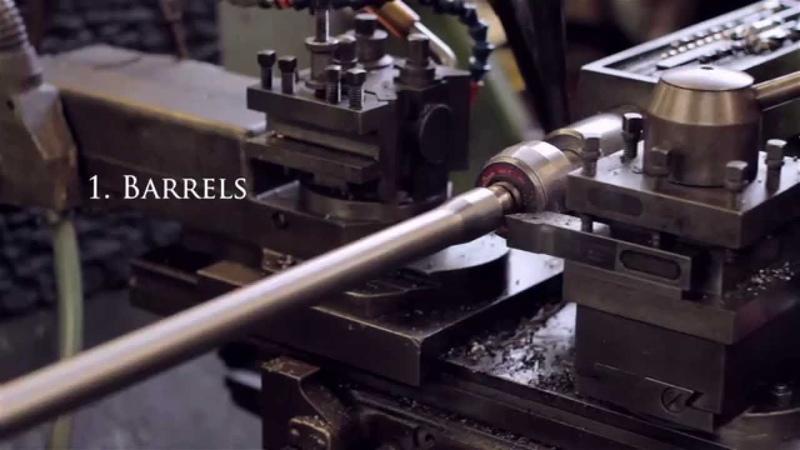 Gunmaking Craftsmanship - Holland Holland