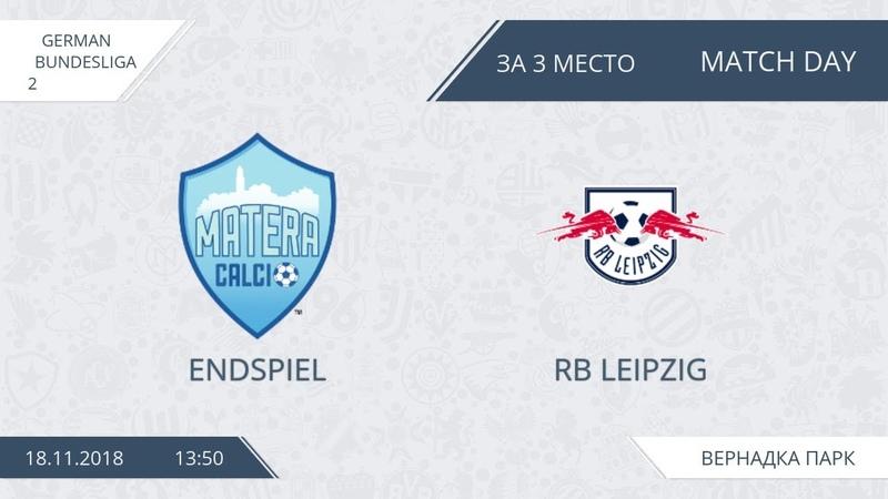 AFL18. Germany. Bundesliga 2. Endspiel - RB Leipzig