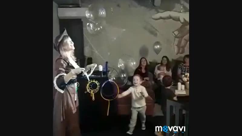 Шоу мыльных пузырей Алины Гельд