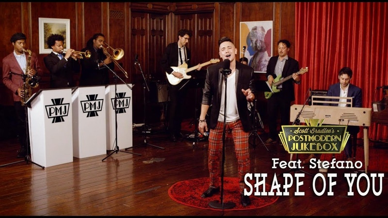 Shape Of You - Ed Sheeran (70s Stevie Wonder Funk Style Cover) ft. Stefano