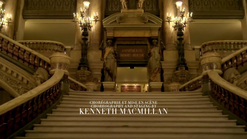 Grande danseuse étoile Aurélie Duponts farewell performance in Kenneth MacMillans Manon last night at the Paris Opera