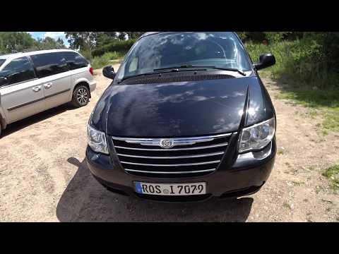 Авто из Литвы в Эстонию Большой обзор минивэна Chrysler Grand Voyager