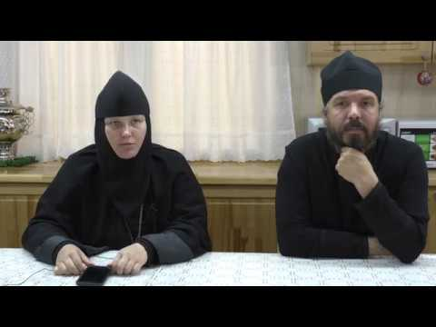 Встреча с матушкой Елисаветой игуменьей Марфо Мариинской обители