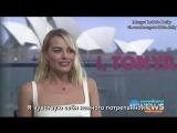 Интервью для TEN Eyewitness News 24 в рамках промоушена фильма Я, Тоня 24.01.18 (Русские субтитры)