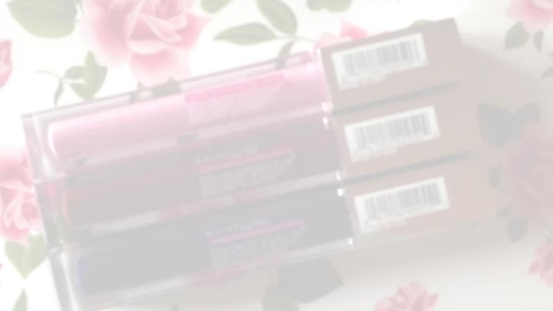 Maybelline Fall 2013 Color Sensational High Shine Lip Gloss Review HD