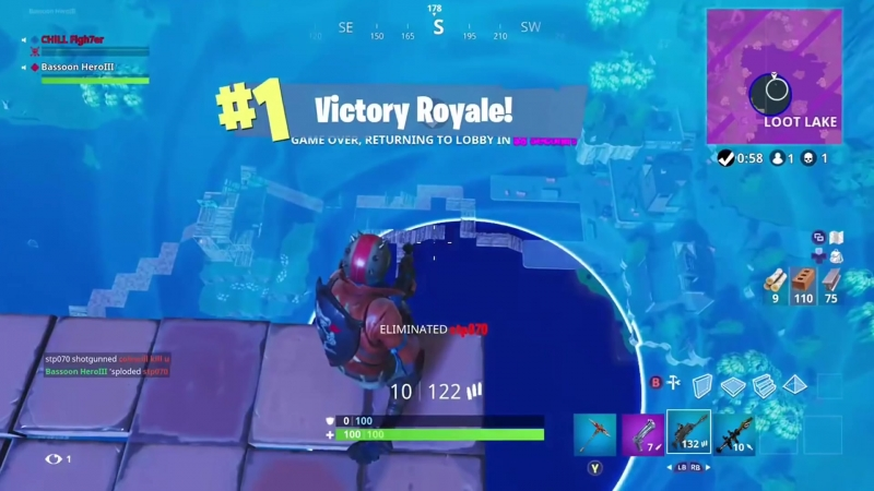 EASIEST SKYBASE WIN EVER..!! WTF Fortnite Moments 3