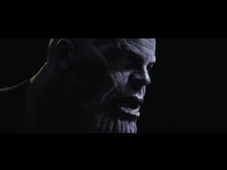 Josh Brolin's Thanos that was shown to Marvel Studios executives prior to filming AVENGERS: INFINITY WAR.