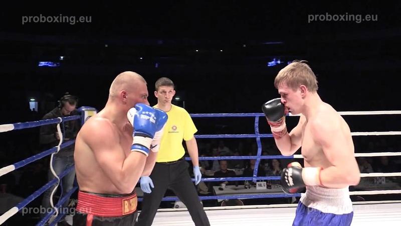 28.03.2015 Ričards Bolotniks (Latvia, Rīga city) VS Lukas Ablozevicius (Lithuania) proboxing.eu