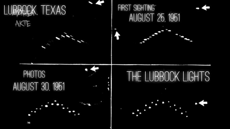 Die gruseligste Massen-UFO-Sichtung - Lubbock Lights - MythenAkte