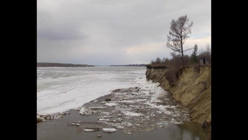 Лёд тронулся колпашевцы 26 апреля зафиксированы несколько подвижек льда на разных участках Оби