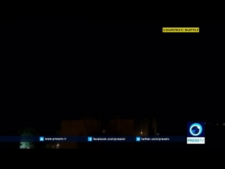 Press tv leak: syrian air defenses intercepting israeli missiles