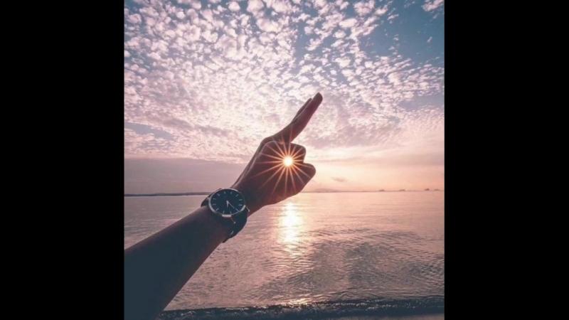Trippie - Make A Wish. kaif hand casio clock sunshine sunset sea ocean sky music perfect кайф музыка часы красивы
