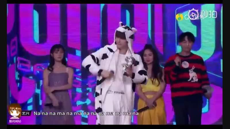 [VIDEO] 181021 Lay - NAMANANA @ Yo! Bang Music Show | Encore 3