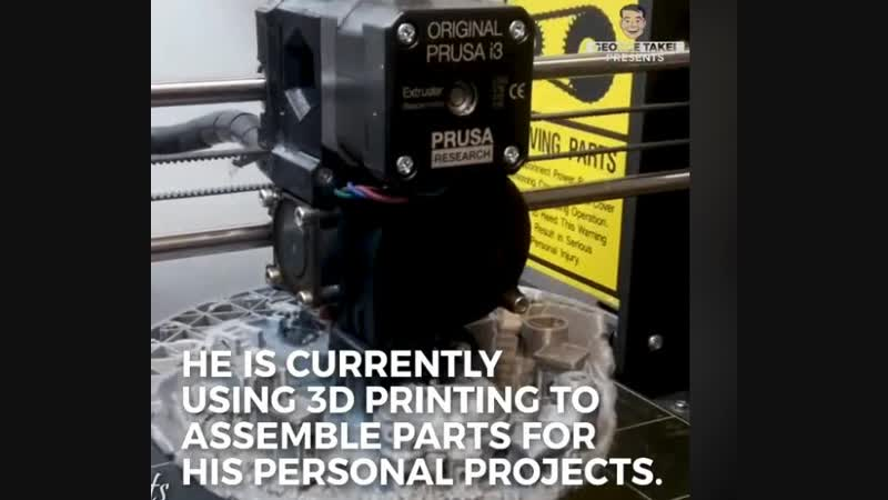 3d printing in time lapce shooting