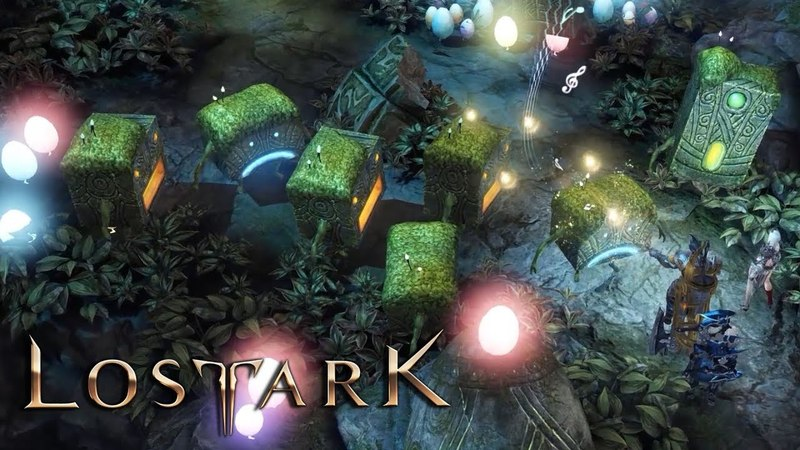 Lost Ark a Magical Dungeon Inside of a Giant Golem Final CBT