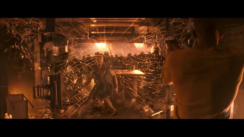 Роберт жертвует собой - Я – легенда (2007) - Момент из фильма