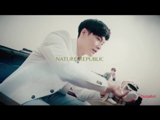 NATURE REPUBLIC & EXO GINSENG ROYAL SILK WATERY CREAM
