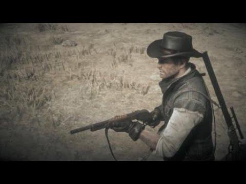 Red Dead Redemption 2 Разнёс бошку с дробовика