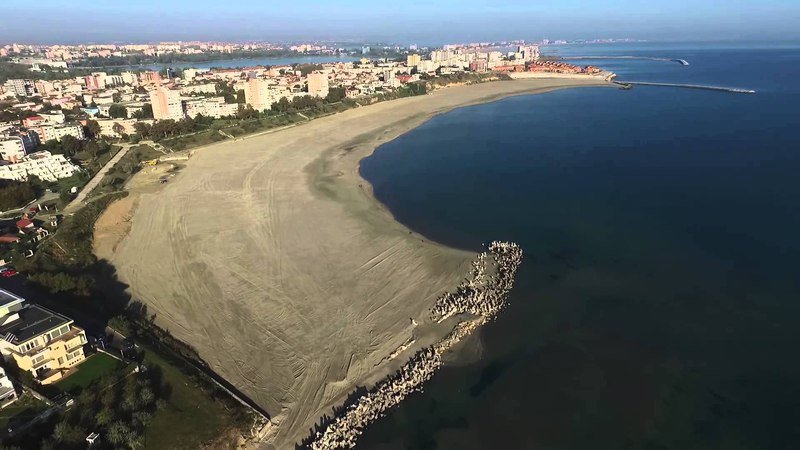 Romania Constanta Tomis Eforie Nord beach 2015 complete after run