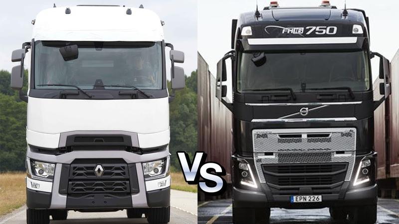Войны грузовиков: Renault T Optifuel vs Volvo Fh16 750