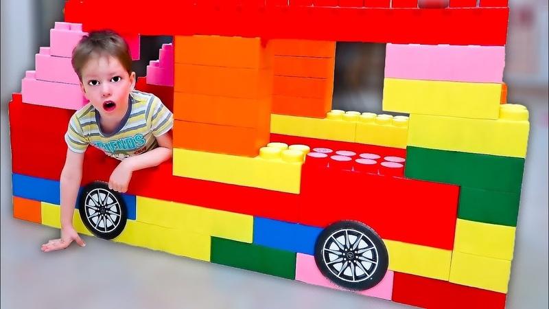 Лучшие серии Луномосика для детей: Важное дело, Огромная машина, Не поделили подарки