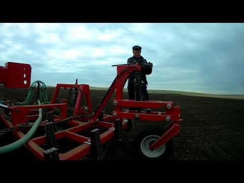 Сезон 2018К 744 р4 и КПК Переезд на поле 500 гектар, сев мягкой пшеницы