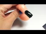 Градиент Омбре Растяжка магнитным гель-лаком кошачий глаз новый дизайн ногтей