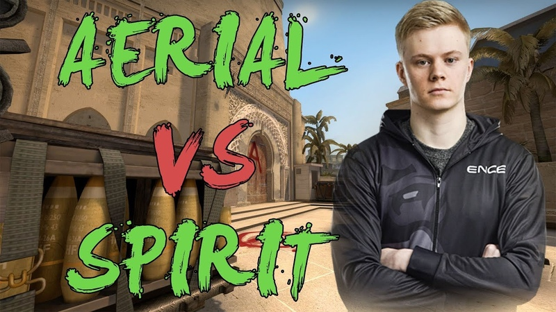 CSGO: POV ENCE Aerial vs Spirit (31/9) mirage @ GG.BET Majestic - ESL One Cologne Qualifier