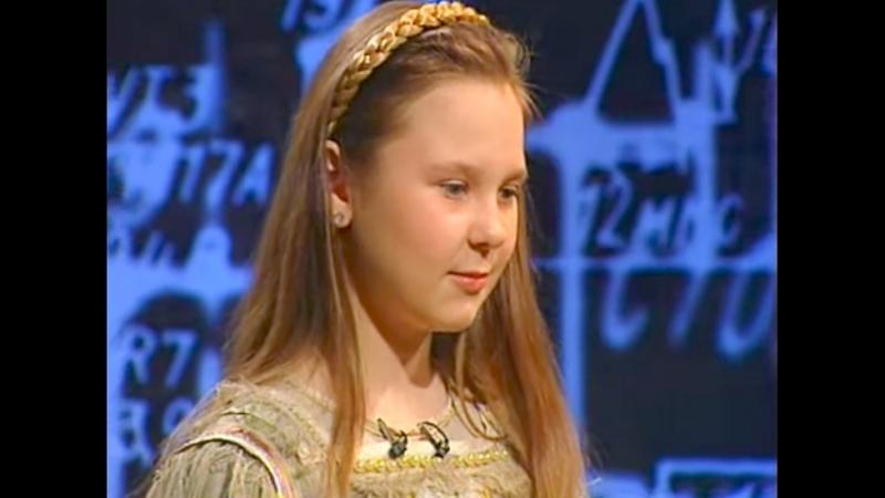 11 летняя Пелагея исполняет Любо и кусочек Казака