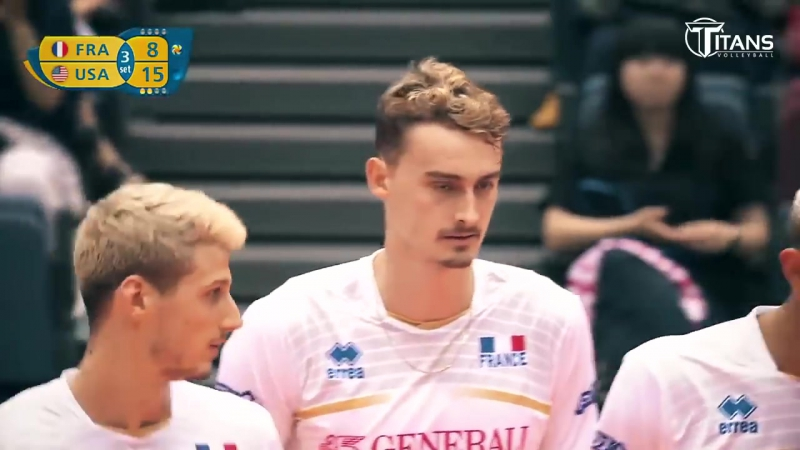 TOP 10 Amazing Volleyball Moments by Jean Patry - Champions Cup 2017