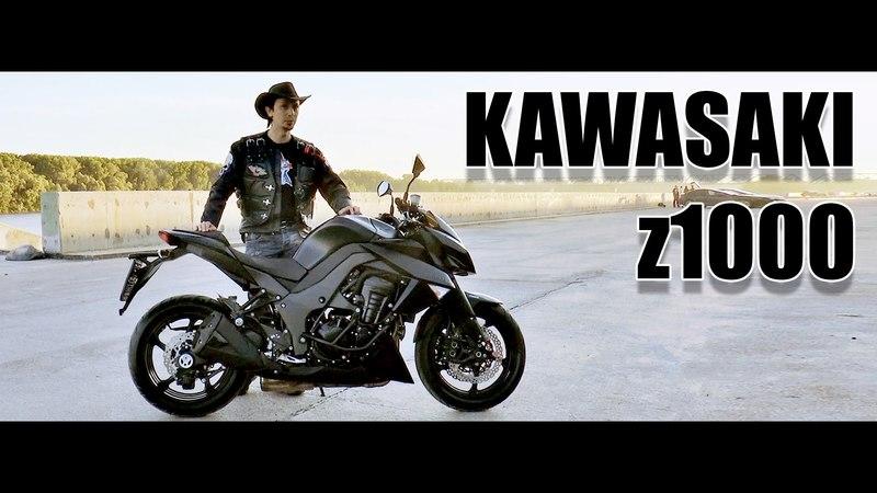 Докатились! Kawasaki Z1000. Правильная спортуха