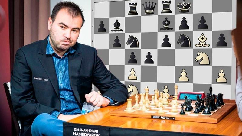 Шахрияр Мамедьяров идёт ставить мат! Партия с Сергеем Карякиным