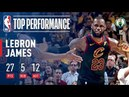 LeBron James Drops DIMES in Game 3 Victory!